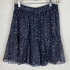 Kate Spade New York Night Sky Lurex Dot Skirt
